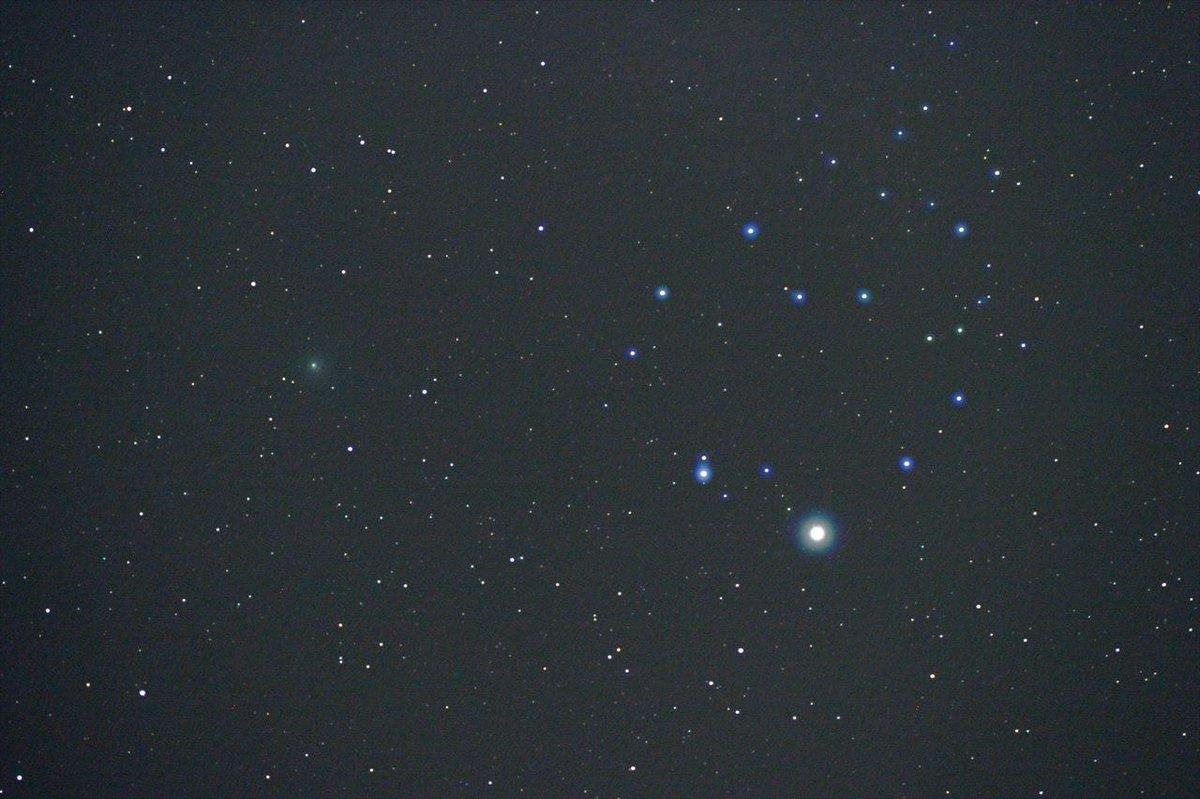 北極星のハートの指輪とラブジョイ彗星を撮ろう