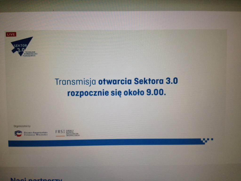 #MoreDigital czekając na rozpoczęcie streamingu:) http://t.co/e5FJxGKl73