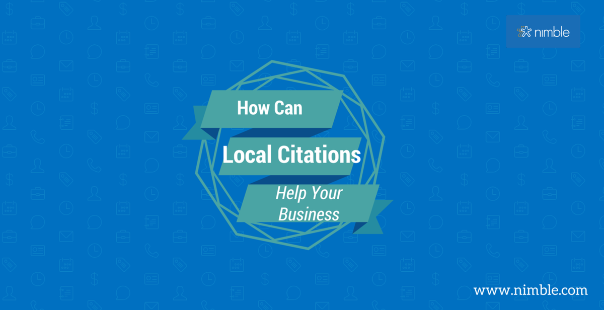 Why Citations Can Help Build and Market Your Company  http://www. nimble.com/blog/why-citat ions-can-help-build-and-market-your-company/?utm_campaign=coschedule&amp;utm_source=twitter&amp;utm_medium=Jon_Ferrara&amp;utm_content=Why%20Citations%20Can%20Help%20Build%20and%20Market%20Your%20Company &nbsp; …  #Marketing #LocalCitations #SMB<br>http://pic.twitter.com/seQSTDX1y8