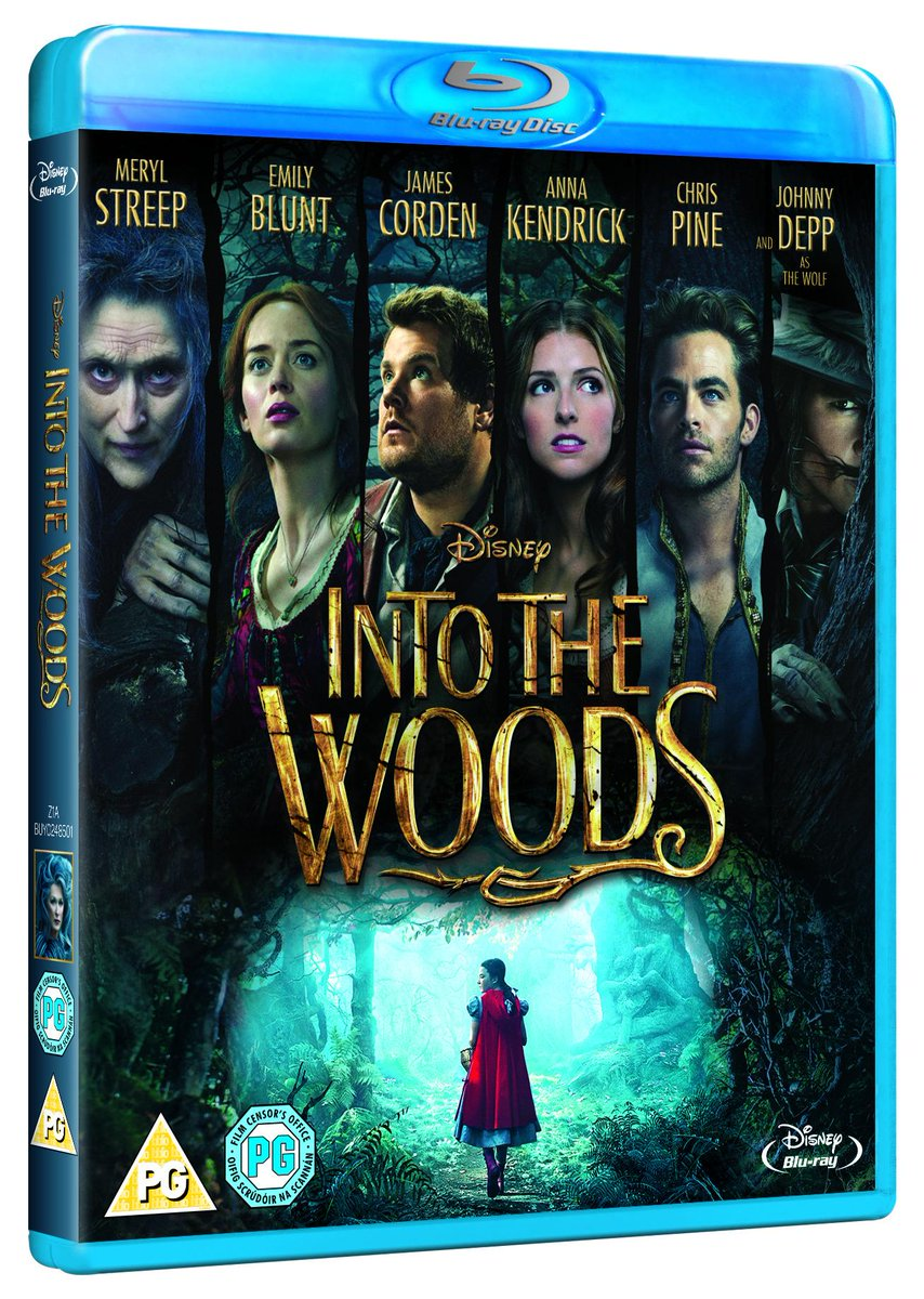 #IntoTheWoods is out now on Blu-ray & DVD and we've got 5 copies up for grabs. RT before 5pm to win! #winitwednesday http://t.co/WKhVR2AuID