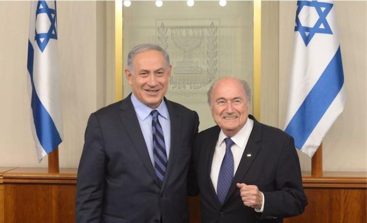 FIFA-Präsident Blatter nach Treffen mit Netanjahu optimistisch - http://t.co/nPP07EhuZz