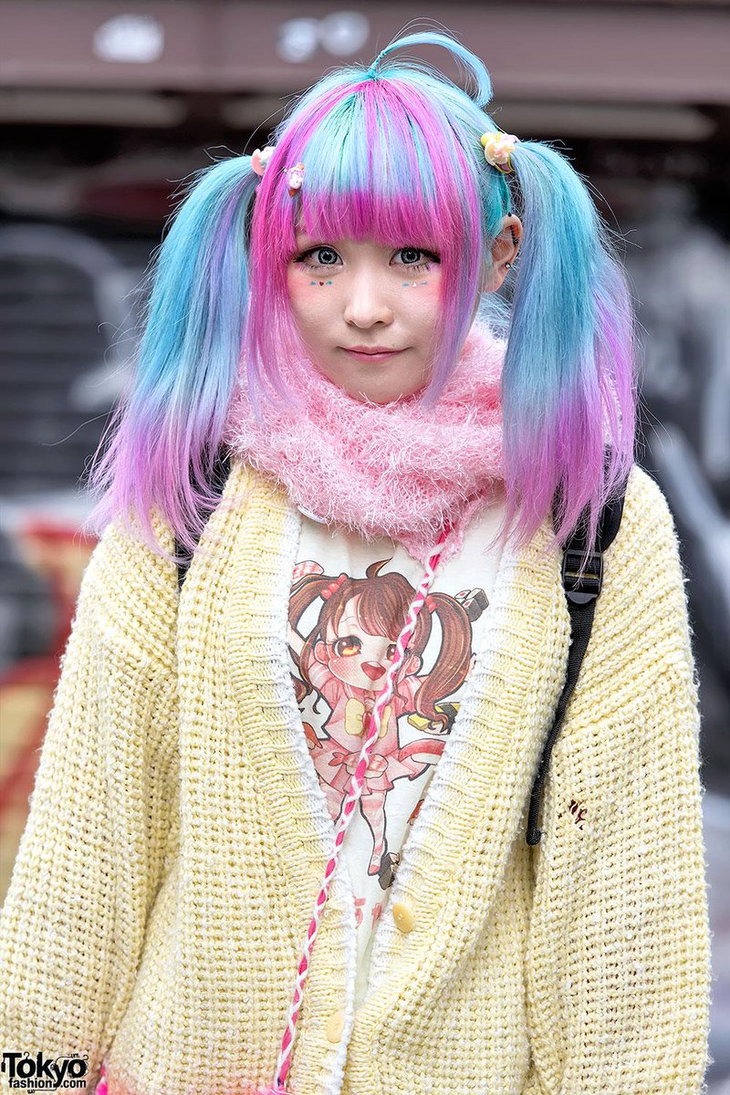Tokyo Fashion On Twitter Harajuku Girl W Cute Anime Inspired