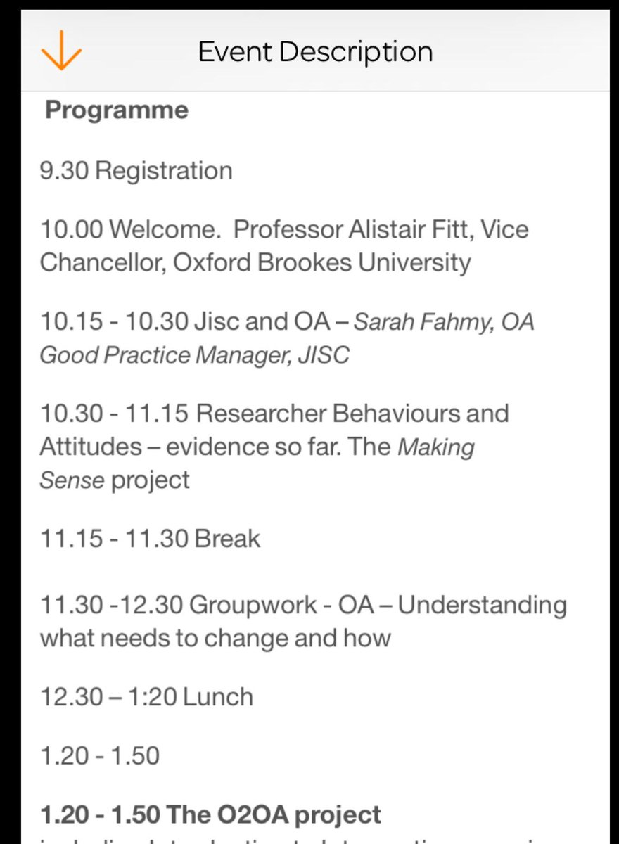 The morning  programme for today's #OAGP workshop http://t.co/pzSHlumDwt