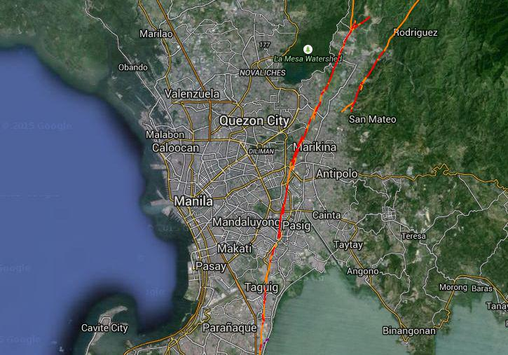 LOOK: Valley Fault System made easy on Google Maps | Scoopnest