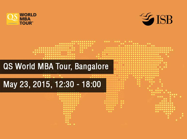 Climb the corporate ladder with an #MBA. Meet ISB's Admissions Team at #QSMBATour in Bangalore http://t.co/VxJ5jaT3Rz http://t.co/guNSsLRQhv