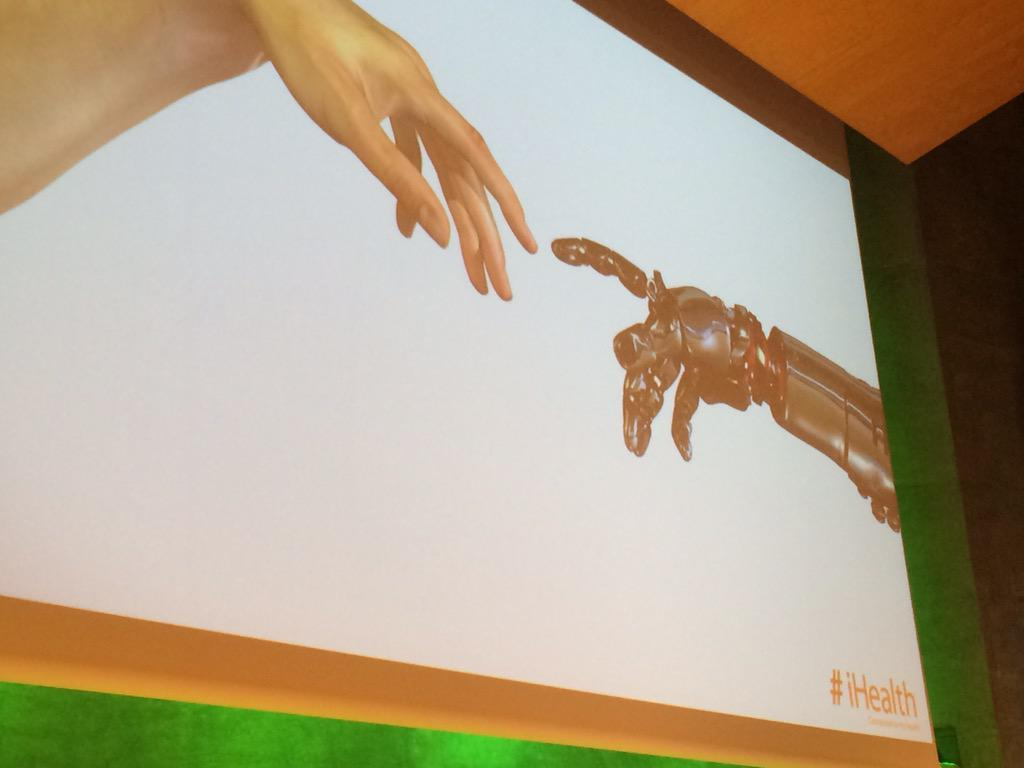 @iHealthLabsEU Opening new thoughts with big data - future keys like connected gadgets will appear #Health2eu http://t.co/dhp2OpkDJd