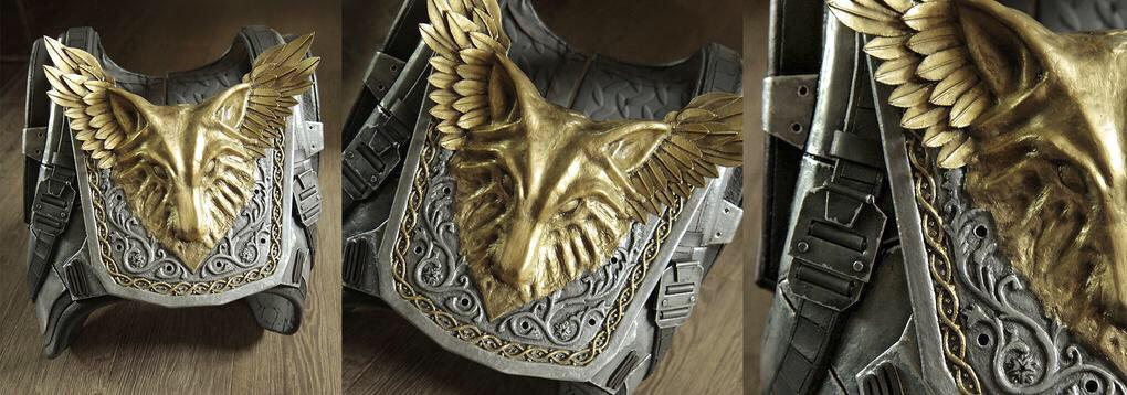 You Are The Wolf Hunter Crest Of Alpha Lupi Chest Armor Destiny Cosplay Tco F7iuv5nYuW