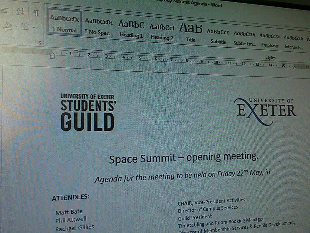 Preparing for the #SpaceSummit that I&#39;m organising this week.. Trying to free up more activities space next year! <br>http://pic.twitter.com/zFcTBPKSWA