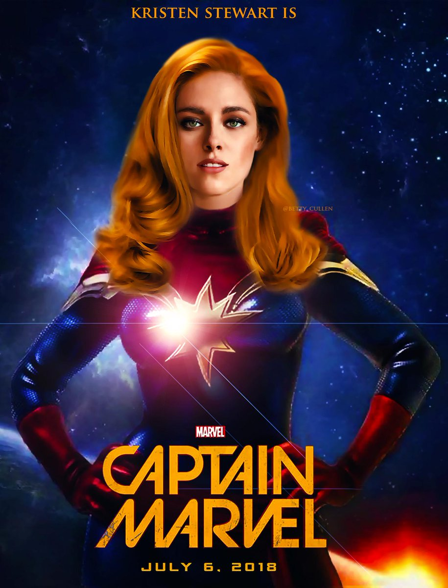 captain marvel kristen stewart