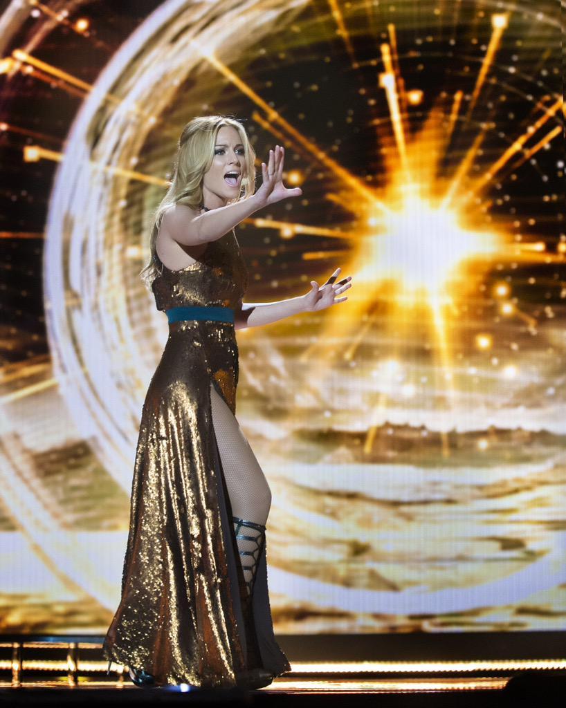 edurne eurovision nueva version
