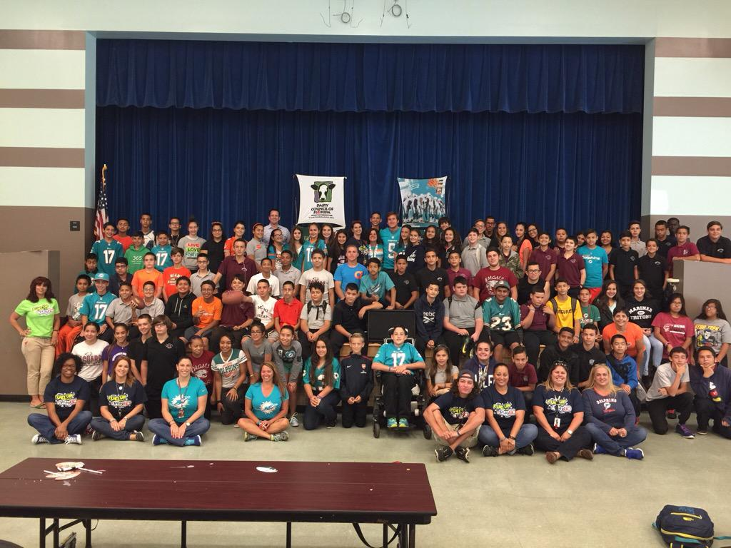 Caleb Sturgis On Twitter Thank You Hialeah Gardens Middle School
