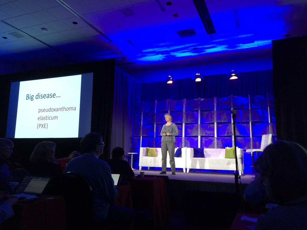 Inspiring opening keynote by @sharonfterry at #bigdatamed http://t.co/Fvxig1mu3z