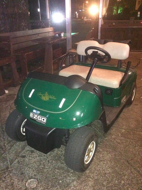 2 drunk guys hijack golf cart from sunday's pga event and drive it on atv guys, shoes guys, florida the cart guys, parts guys,