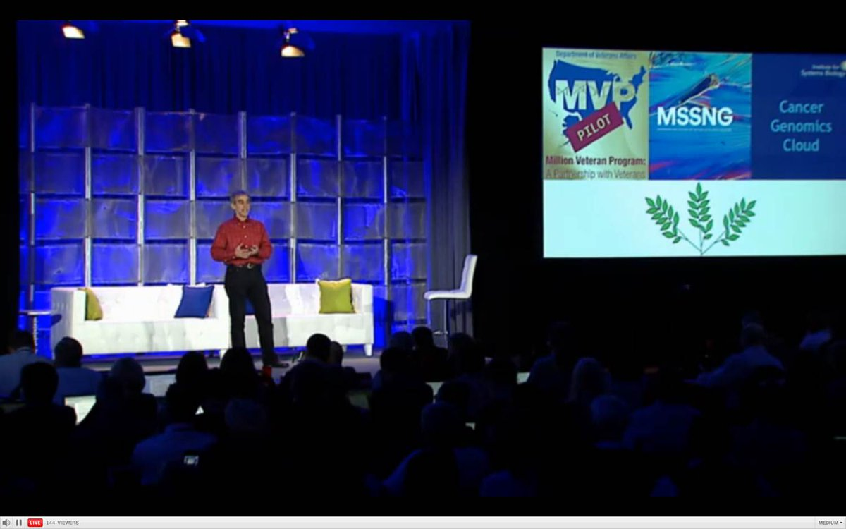 David Glazer from #Google - collaborating in big genomics projects including VA Million Veterans Program #bigdatamed http://t.co/gdrh94jm7t