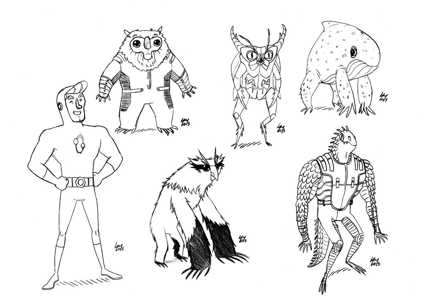 Arte de Rafael Lam - Ilustras! - Página 16 CFdojg6WIAEy7TP