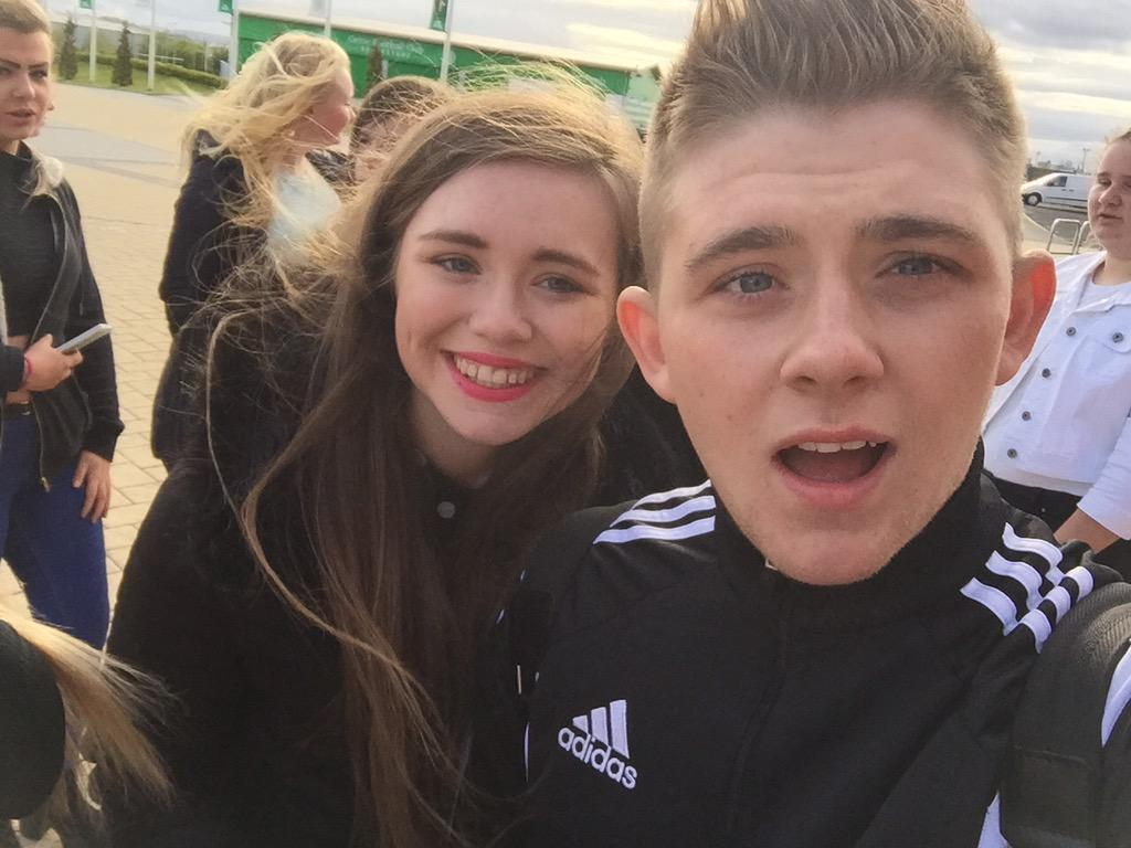 RT @stephanieo98: @nickymcdonald1 doing so well bro. We r all so proud 💚💚💚 http://t.co/fmmbAWiF8R
