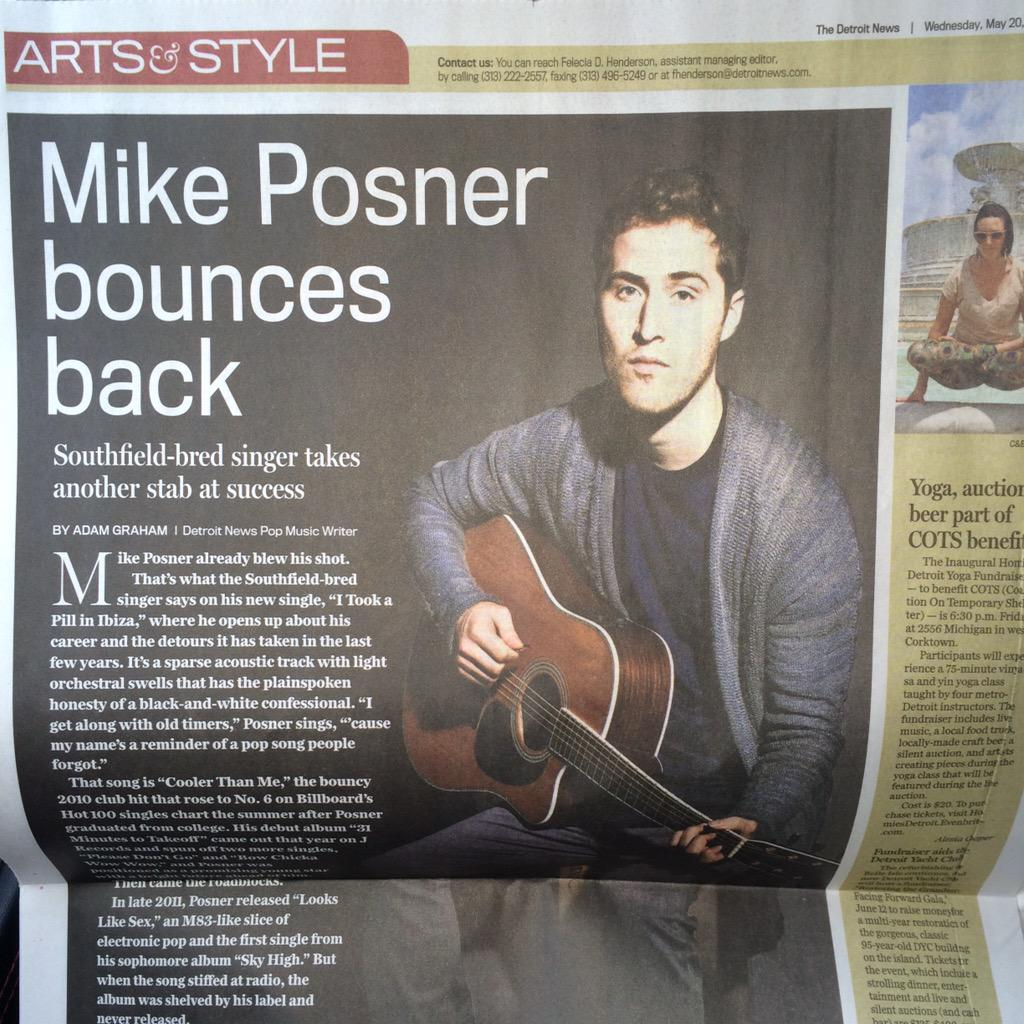Round 2. Best wishes bro; proud of you. @MikePosner #DetroitFreePress #RLI #MittensUp #DetroitVsEverybody http://t.co/pdr0fMbPtZ
