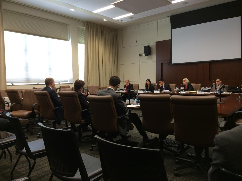**Photo of Williamson testifying at the DMCA hearing**
