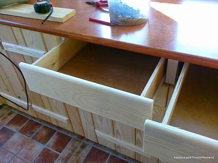 мебель для кухни своими руками блоки