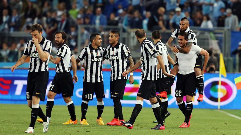 JUVENTUS-LAZIO 2-1 VIDEO Finale Coppa Italia: Matri e Chiellini regalano il trofeo dopo 20 anni alla Vecchia Signora (Decima, 20 maggio 2015)