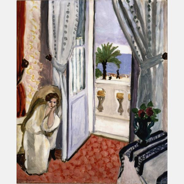 Rabih alameddine on twitter henri matisse femme assise for Matisse fenetre