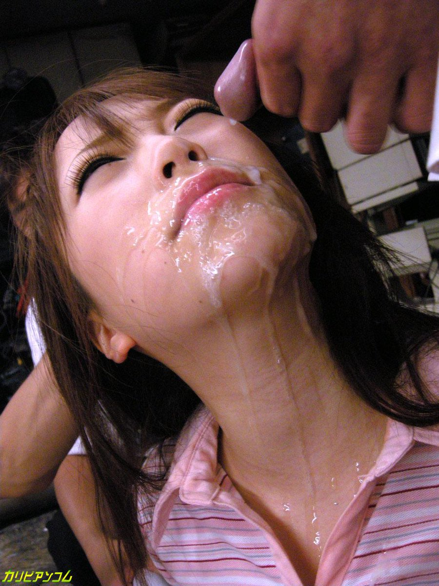 Cum Covered Asian Pics