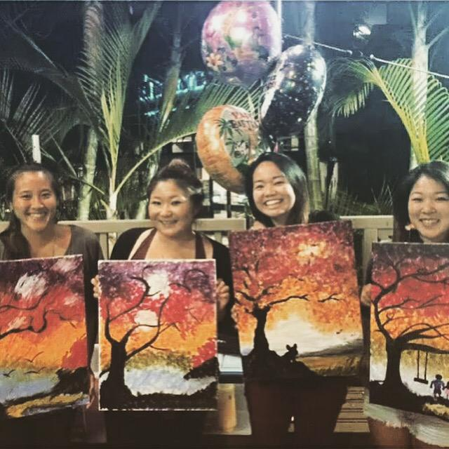 Join us TUESDAY NIGHT for #PaintNite at our @BigCityDiner at @Pearlridge location EVERY Tuesday Night from 6:30 pm...We love those paintings! #BigCityDiner #PaintNite #Pearlridge #Hawaii #Aloha  #Wine #Beer #Margaritas #Cocktails #Pupu #TwitterTuesday #Fun