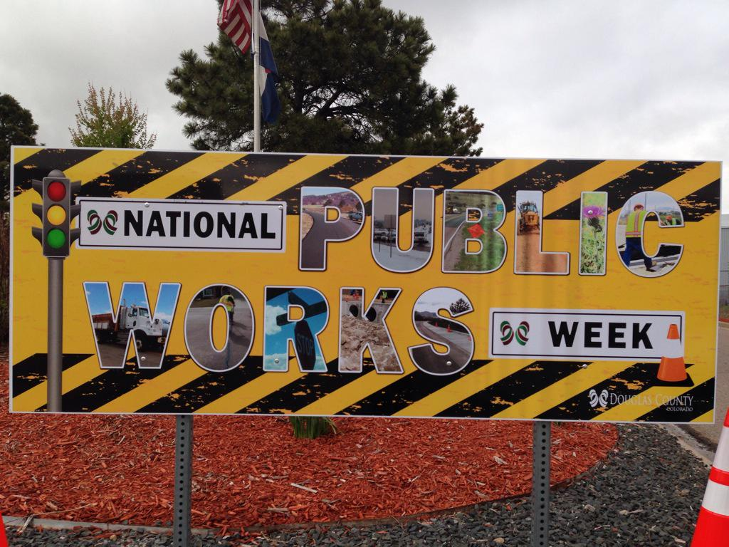 It's National Public Works Week. My thanks to our public works & all they do 52 WEEKS a year!!! #NPWW @dcsheriff http://t.co/YpaG2JpcfV