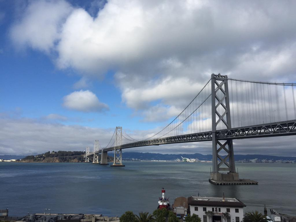 Awesome event, awesome speaker, awesome view.  #SFHTML5 @jensimmons http://t.co/QzH7ziSX9F