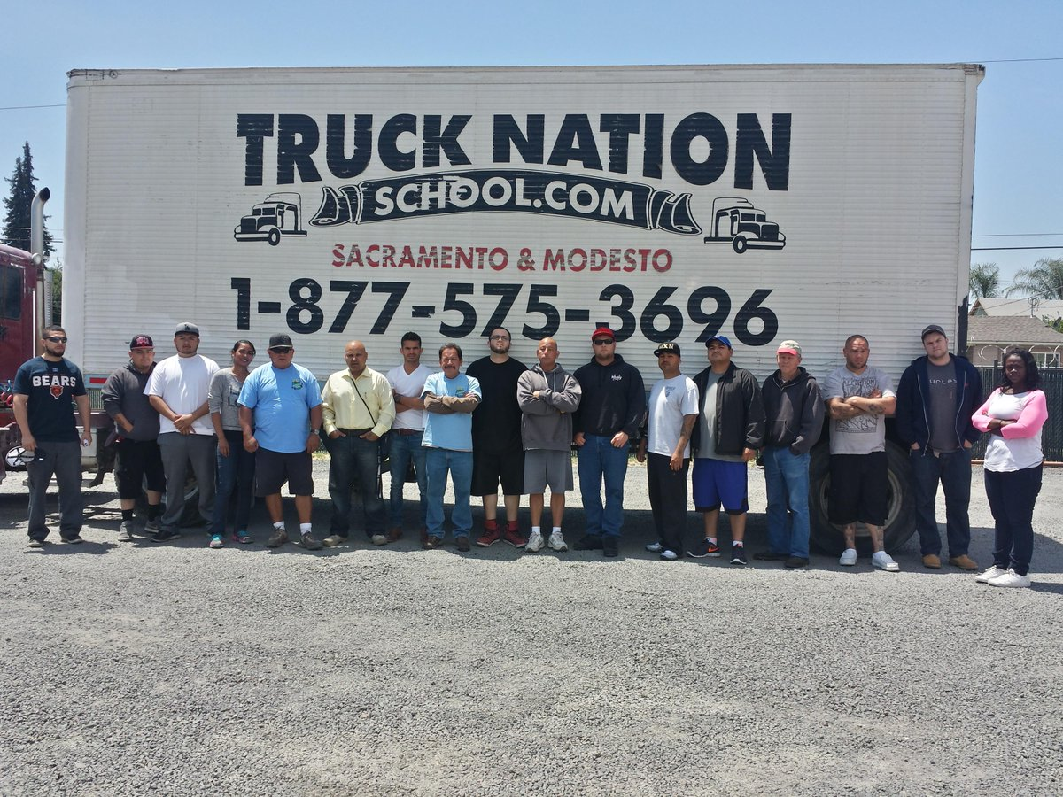 Truck Nation School On Twitter Truck Nation School In Salida Ca