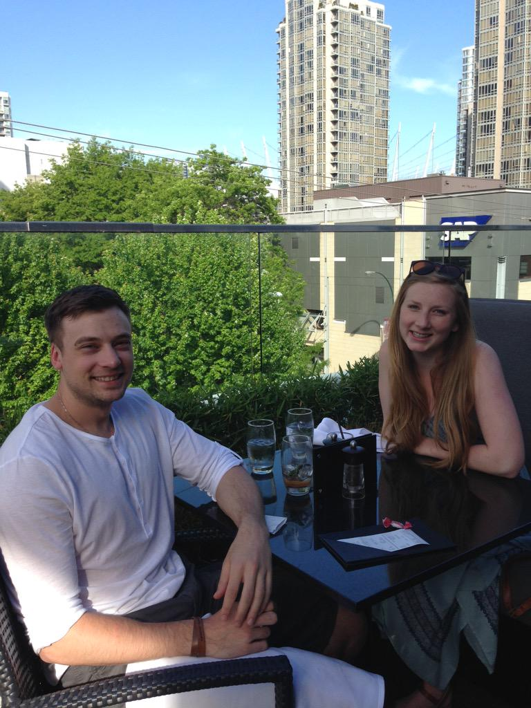 Twitter post: RT @laurenarchi: Patio season in full swing @TheKeg…Read more. Opens full post in an overlay