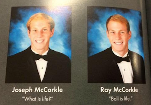 """Funny Yearbook Quotes Twins: Ballislife.com On Twitter: """"Best Yearbook Quote From The"""