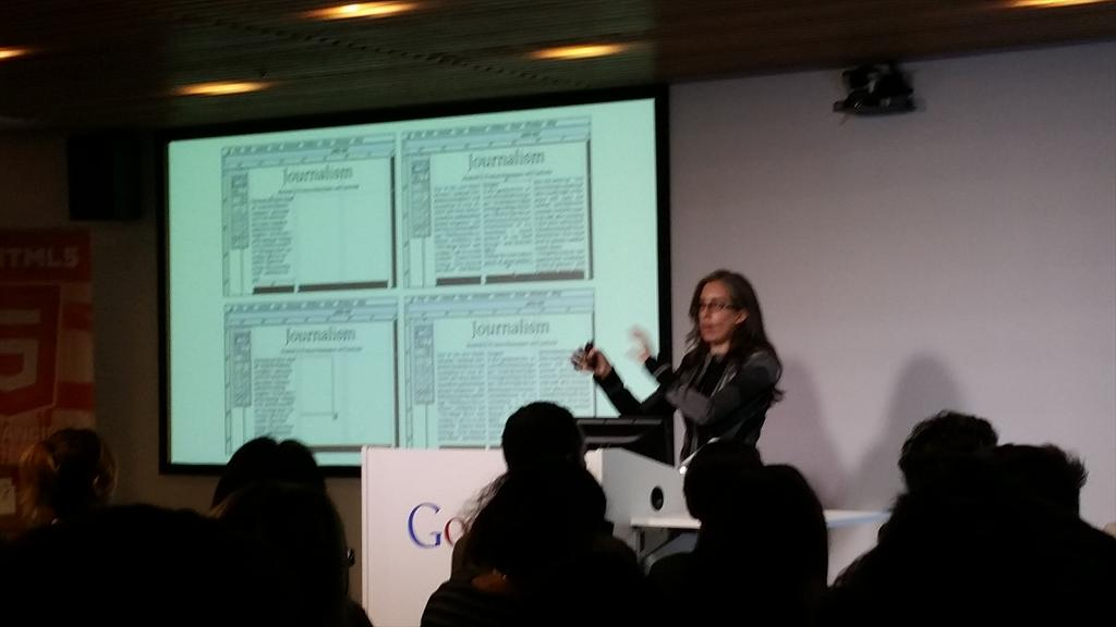 Many thanks to #SFHTML5 for bringing in  @jensimmons to make us all rethink our layouts! http://t.co/AFd3KxHE34