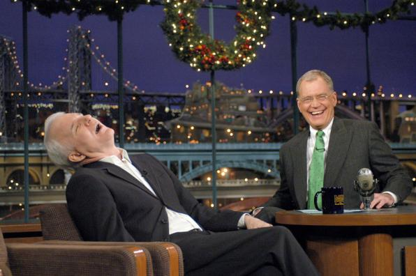 Steve Martin was one of Dave's Top Ten guest readers, who was your favorite? #ThanksDave http://t.co/Uwgndz0Vv6