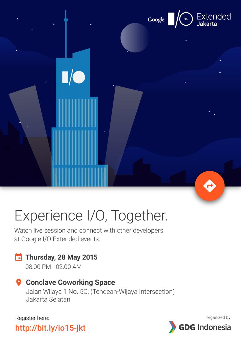 "Gunadarma Youth on Twitter: ""Join Google I/O 2015! Daftar: http ..."