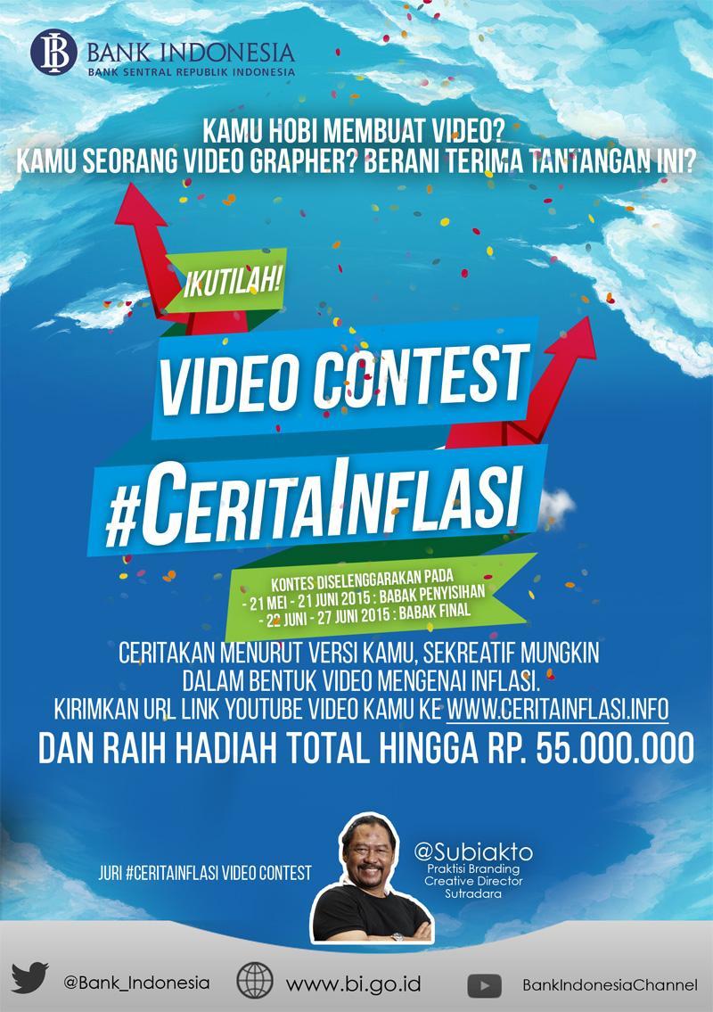 "Bank Indonesia on Twitter: ""Bank Indonesia Gelar Lomba Video ..."