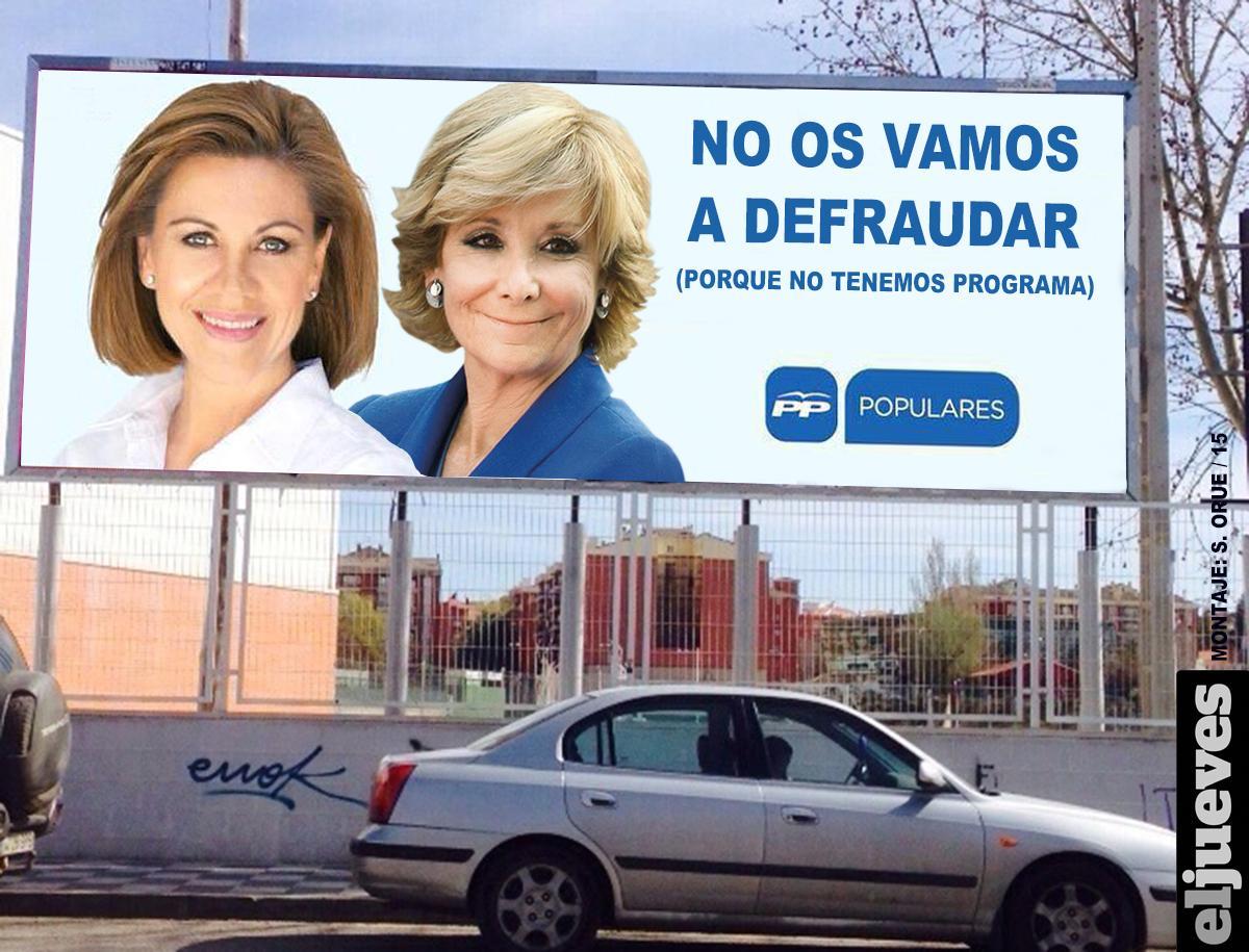 Aguirre y Cospedal llegan sin programa a las vísperas del 24-M http://t.co/3TcXfHOFau