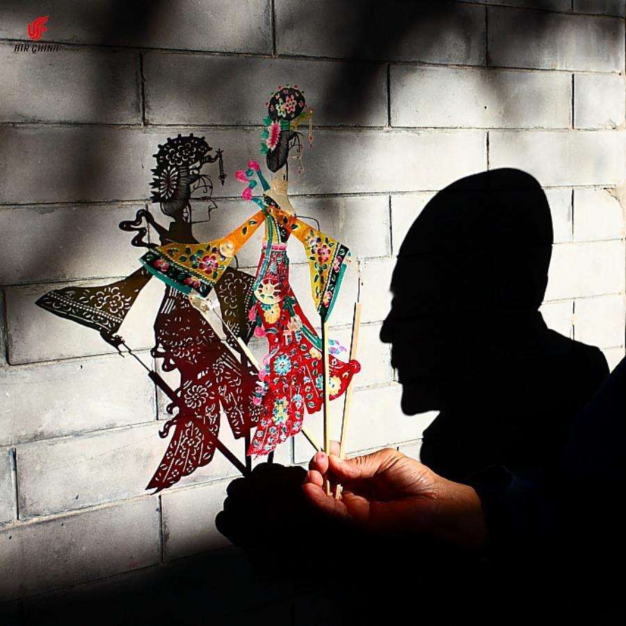 Das chinesische #Kunst #Schattentheater #皮影戏 http://on.fb.me/1yJ5YFC
