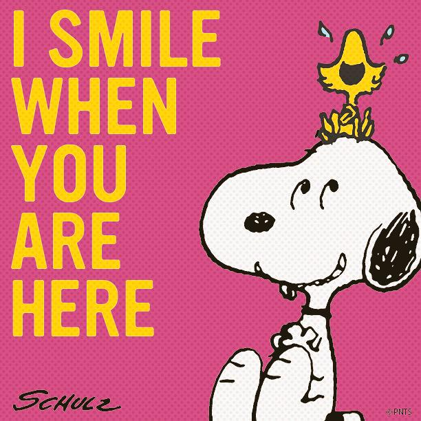 Peanuts On Twitter You Make Me Smile Httptcob7wuvxpwrh