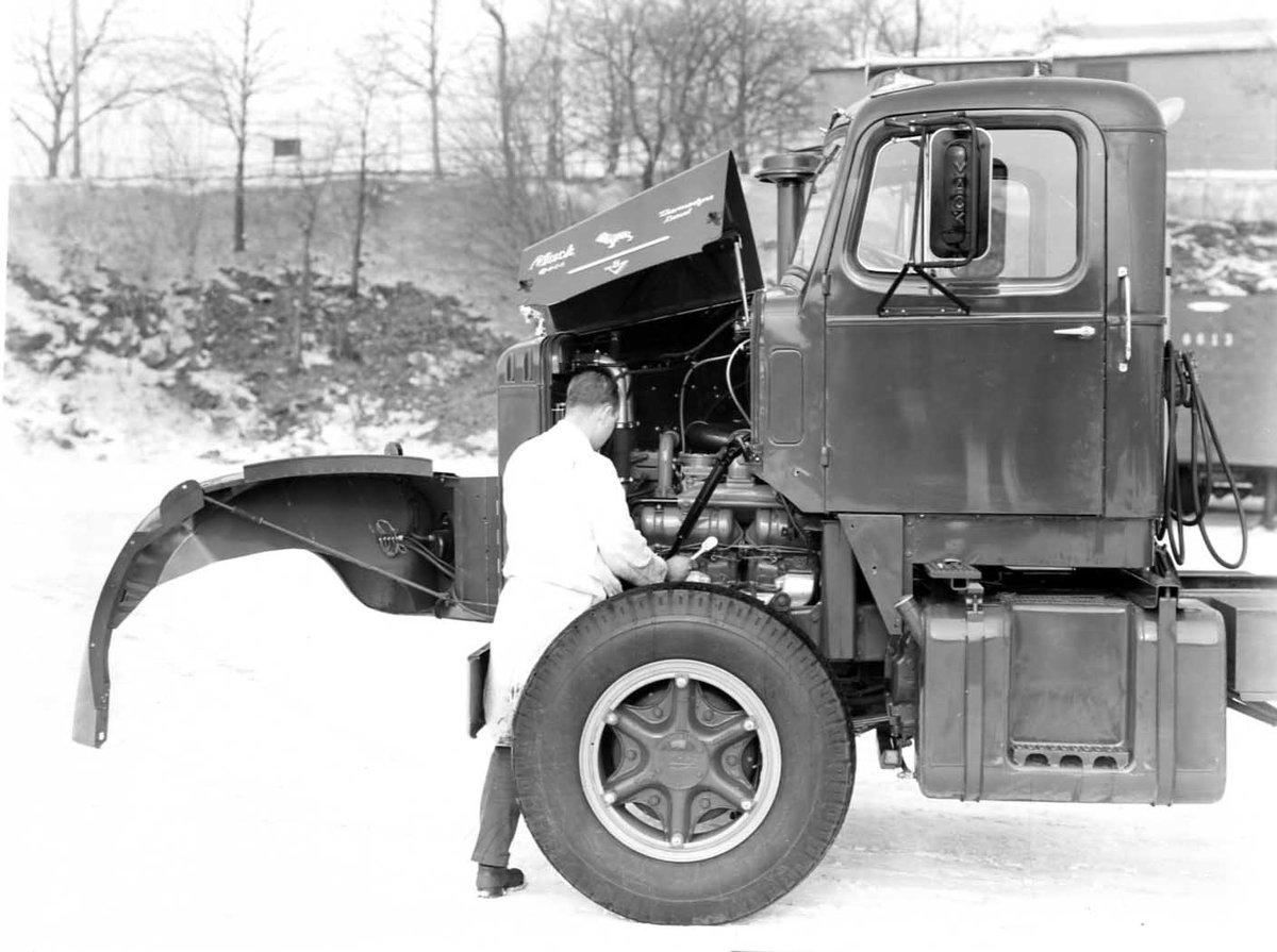 Mack C Model Trucks : Mack trucks on twitter quot to fit a v in bbc cab the