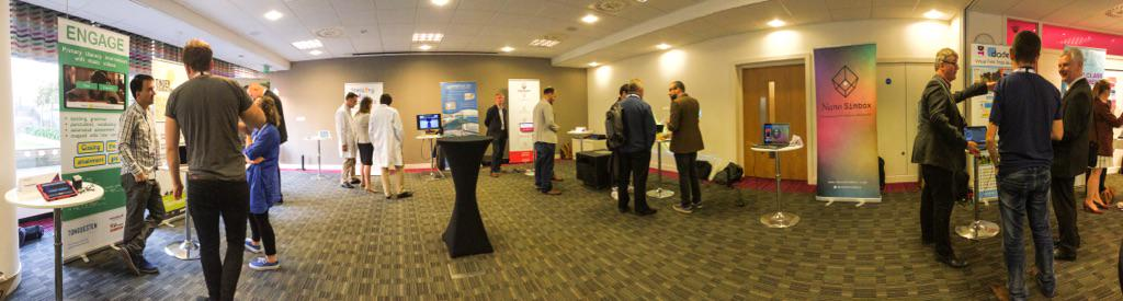 Demonstrating #VFTaaS at #CollaborationNation  #CN15learningtech today #ServiceDesign http://t.co/ciA5UpXv0m