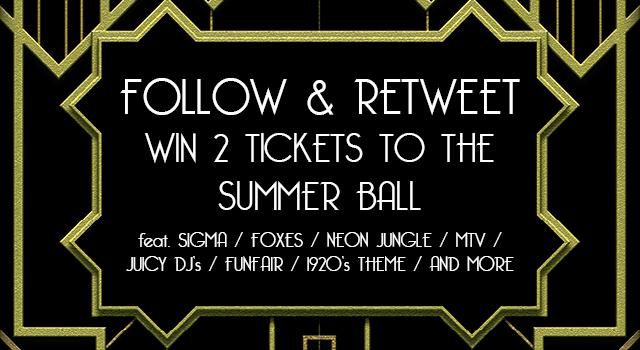 It's back! RT & Follow to win. Not got a ticket yet? Early bird price ends tomorrow http://t.co/nOEzoqOmFc http://t.co/VQPObKh9k6
