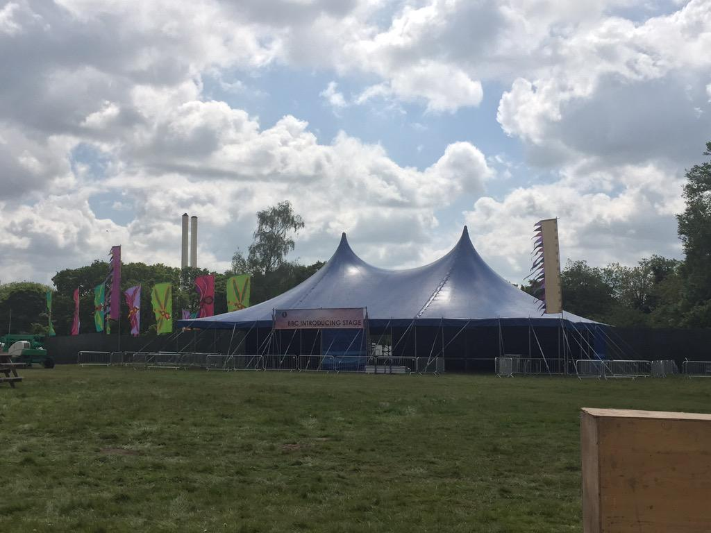 Aaand the introducing stage opposite the cocktail bar #bigweekend http://t.co/6kU57zwOsm