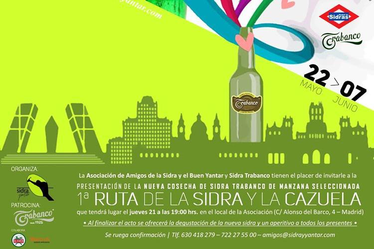 'I Ruta de la Sidra y la Cazuela' en 50 de las mejores sidrerías (22my-7jun) @madridesalterna http://t.co/j6Xt9iRWfW