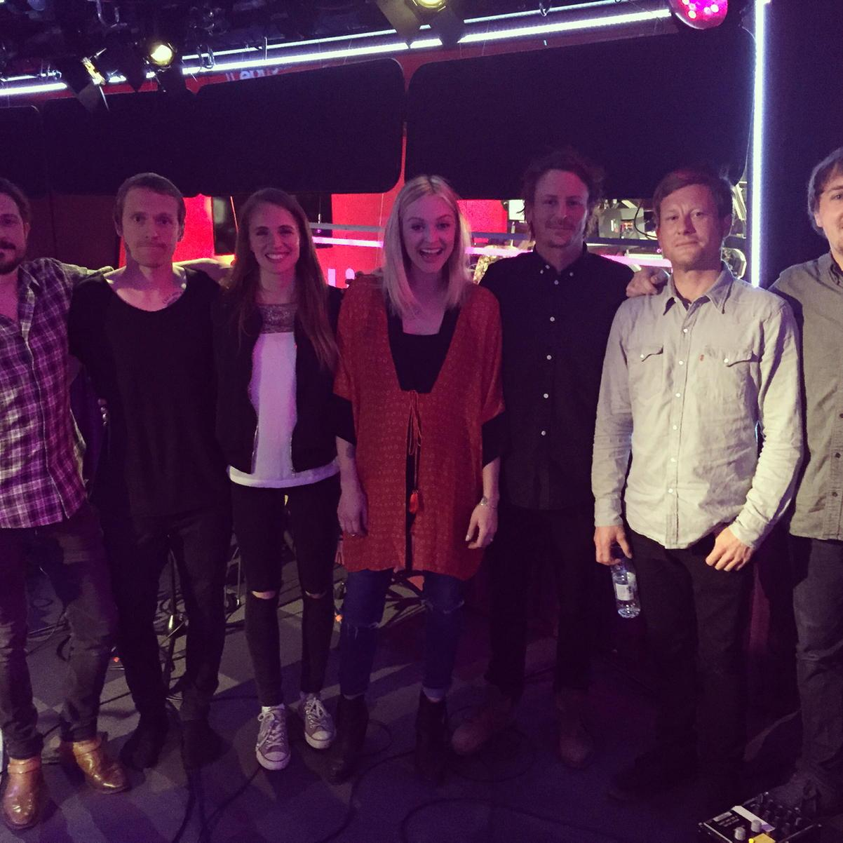 Thank you team @benhowardmusic I'm beaming with happiness after that live lounge http://t.co/P9mtWOdcDN