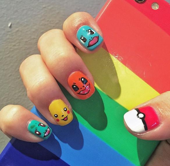 """@BuzzFeed: 23 awesome nail art designs inspired by Pokémon  http://bzfd.it/1R7cG1u pic.twitter.com/m6yU3tVpRc"" - BuzzFeed On Twitter:"