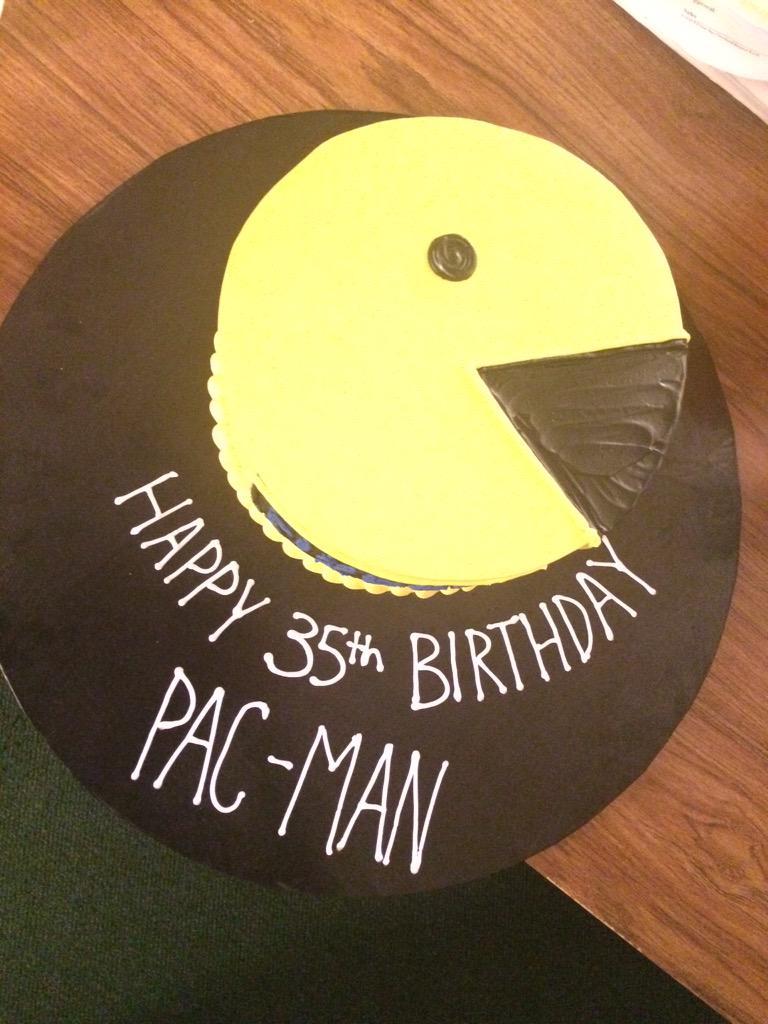 Rachel Inch On Twitter Happy Birthday 35th Birthday Pac Man