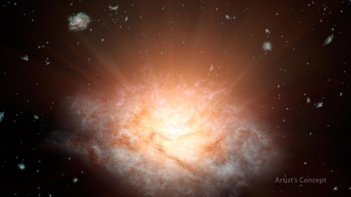 We have a new record holder for the most luminous galaxy in the universe! http://t.co/NhzrE7zssg http://t.co/OhEousWZV5