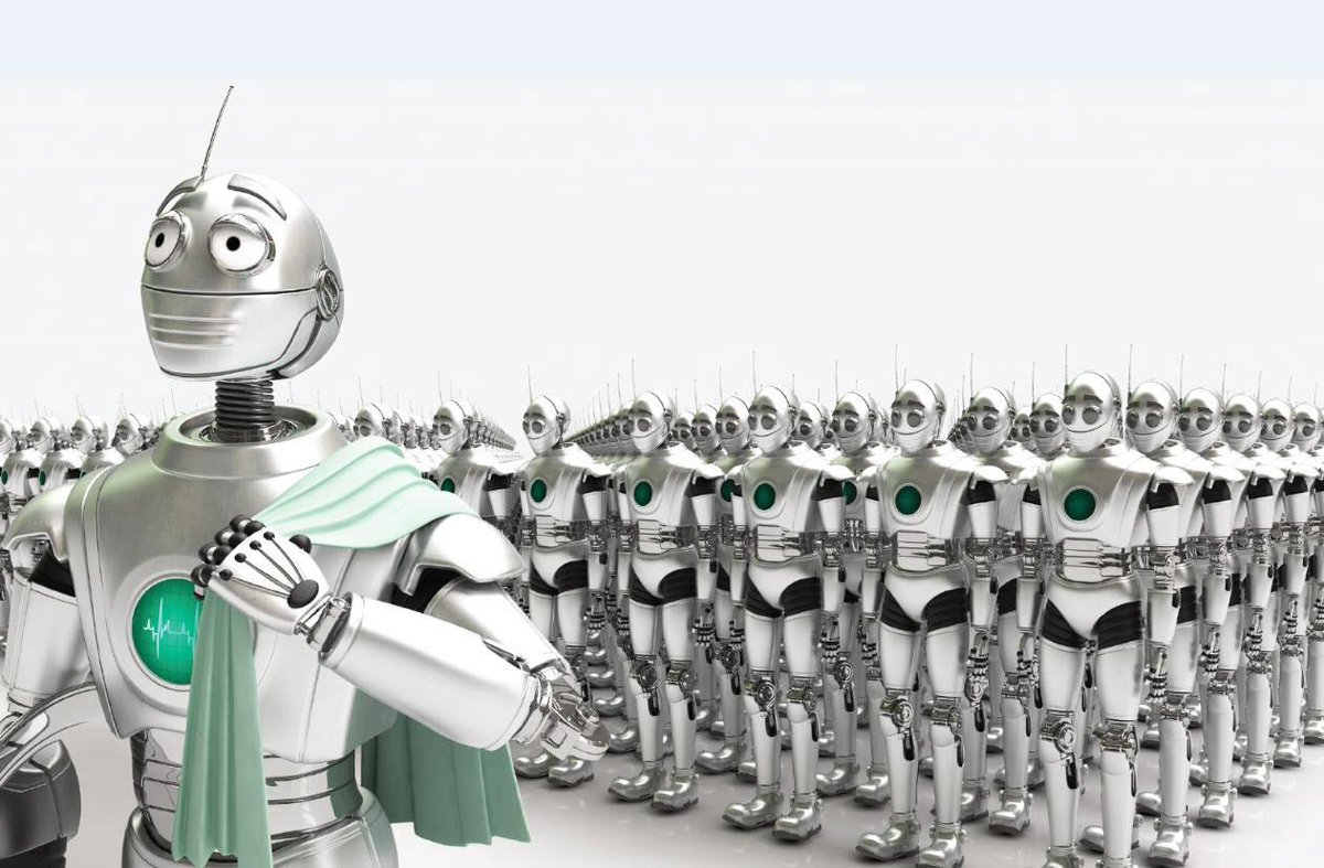 Blog: Is Advanced AI + Robot Army = End of Human Race? http://t.co/KqrNeEgRoB http://t.co/iJbGTLh32X