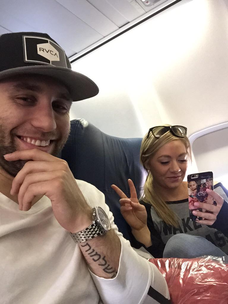Jason Zucker On Twitter Off To Vegas With My Girl Carlyaplin